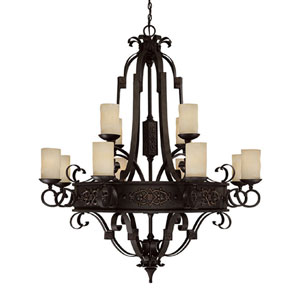 River Crest Twelve-Light Chandelier