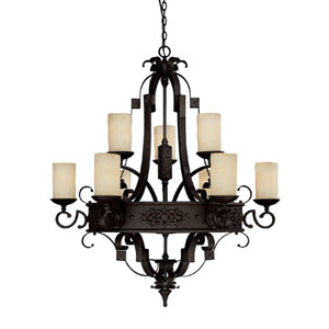 River Crest Nine-Light Chandelier