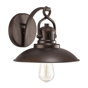 Oneill Burnished Bronze One-Light Wall Sconce