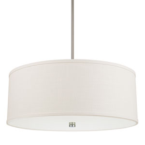 Midtown Matte Nickel Four-Light Pendant