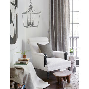 Stanton Brushed Nickel Three-Light Foyer Pendant