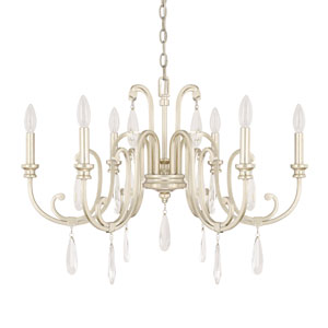Cambridge Winter Gold Six-Light 29-Inch Wide Chandelier