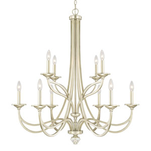 Donny Osmond Windsor Soft Gold Ten-Light Chandelier