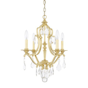 Blakely Capital Gold Four-Light Chandelier