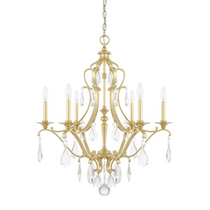 Blakely Capital Gold Six-Light Chandelier