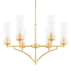 Regan Capital Gold Six-Light Chandelier