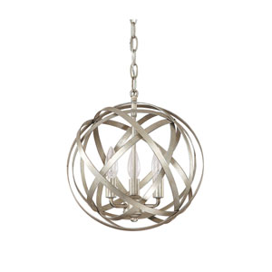 Axis Winter Gold Three Light Pendant