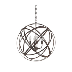 Axis Russet Four Light Pendant