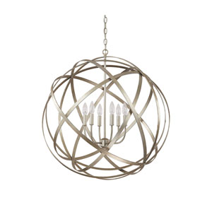 Axis Winter Gold Six Light Pendant