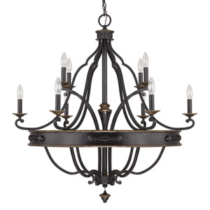 Wyatt Surrey 10-Light Chandelier