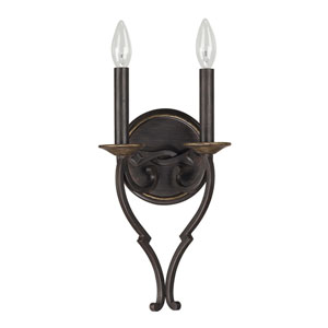 Wyatt Surrey Two-Light Wall Sconce
