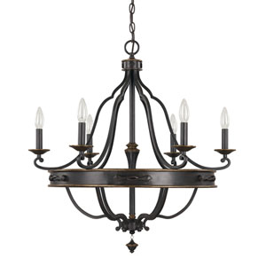 Wyatt Surrey Six-Light Chandelier