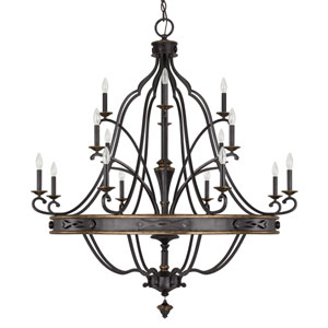 Wyatt Surrey 16-Light Chandelier