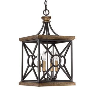 Landon Surrey Four-Light Foyer Pendant