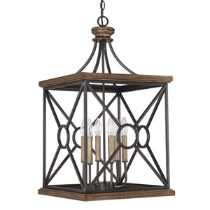 Landon Surrey Six-Light Foyer Pendant