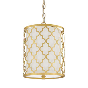 Ellis Capital Gold Two-Light Pendant