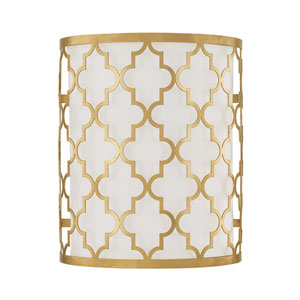 Ellis Capital Gold Two-Light Sconce