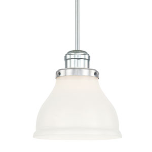 Baxter Chrome One-Light Pendant