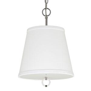 Taylor Polished Nickel Three-Light Pendant