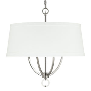 Taylor Polished Nickel Four-Light Pendant