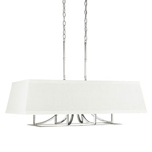 Parker Polished Nickel Six-Light Pendant