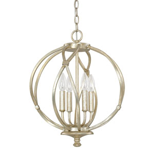 Bailey Winter Gold Four-Light Pendant
