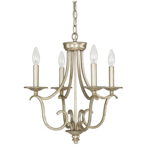 Bailey Winter Gold Four-Light Mini Chandelier