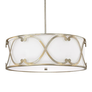 Alexander Winter Gold Four-Light Pendant