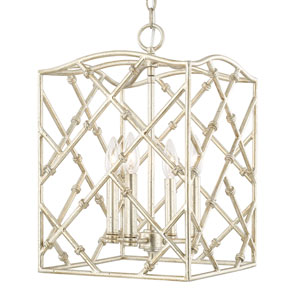 Foyers Winter Gold Four-Light 12-Inch Wide Foyer