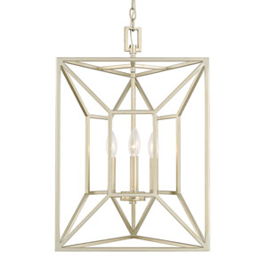 Foyers Soft Gold Three-Light Three-sided Foyer