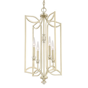 Donny Osmond Windsor Soft Gold Four-Light Pendant