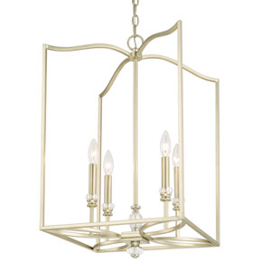 Donny Osmond Windsor Soft Gold Four-Light Foyer