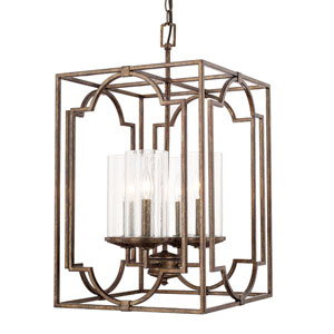 Avanti Rustic Four-Light Foyer