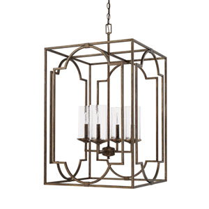Avanti Rustic Four-Light Pendant