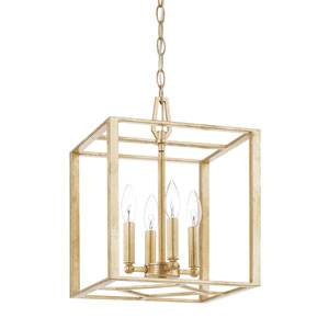 Regan Capital Gold 16-Inch Four-Light Pendant