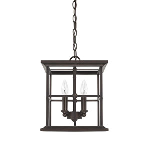 West Port Old Bronze 12-Inch Four-Light Pendant