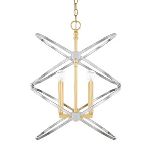 Fire and Ice 18-Inch Four-Light Pendant