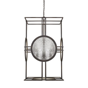 Alston Old Bronze 22-Inch Four-Light Pendant