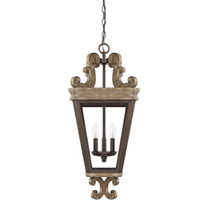 Renaissance Three-Light Pendant