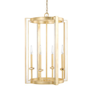 Abella Capital Gold 19-Inch Four-Light Pendant