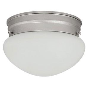 Matte Nickel Flush Mount Ceiling Light