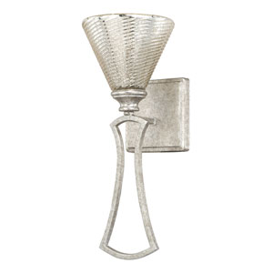 Corrigan Antique Silver One-Light Wall Sconce