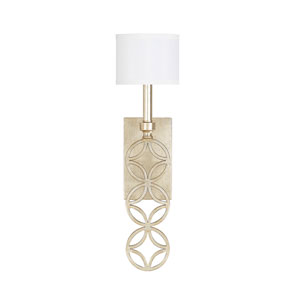 Mercer Winter Gold 22-Inch One-Light Sconce
