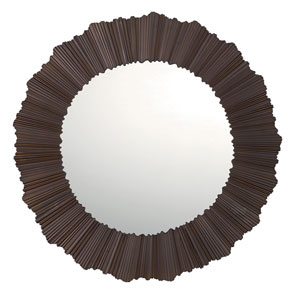 Burnished Bronze 29.5-Inch Wide Mirror