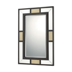 Mirrors Old Bronze and Aged Brass Rectangular Mirror