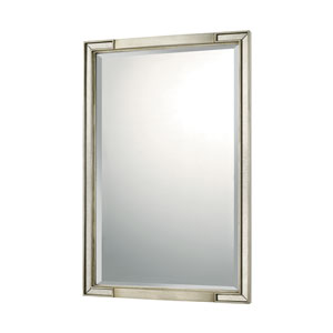 Mirrors Winter Gold 24-Inch Rectangular Mirror