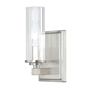 Emery Brushed Nickel One-Light Sconce