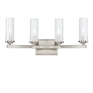 Emery Brushed Nickel Four-Light Vanity