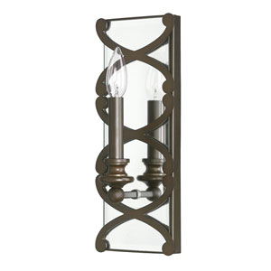 Alexander Burnished Bronze One-Light Sconce