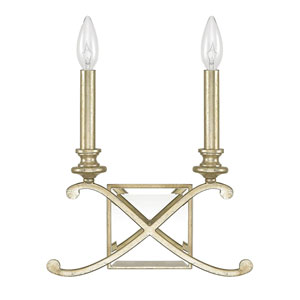 Alexander Winter Gold Two-Light Sconce